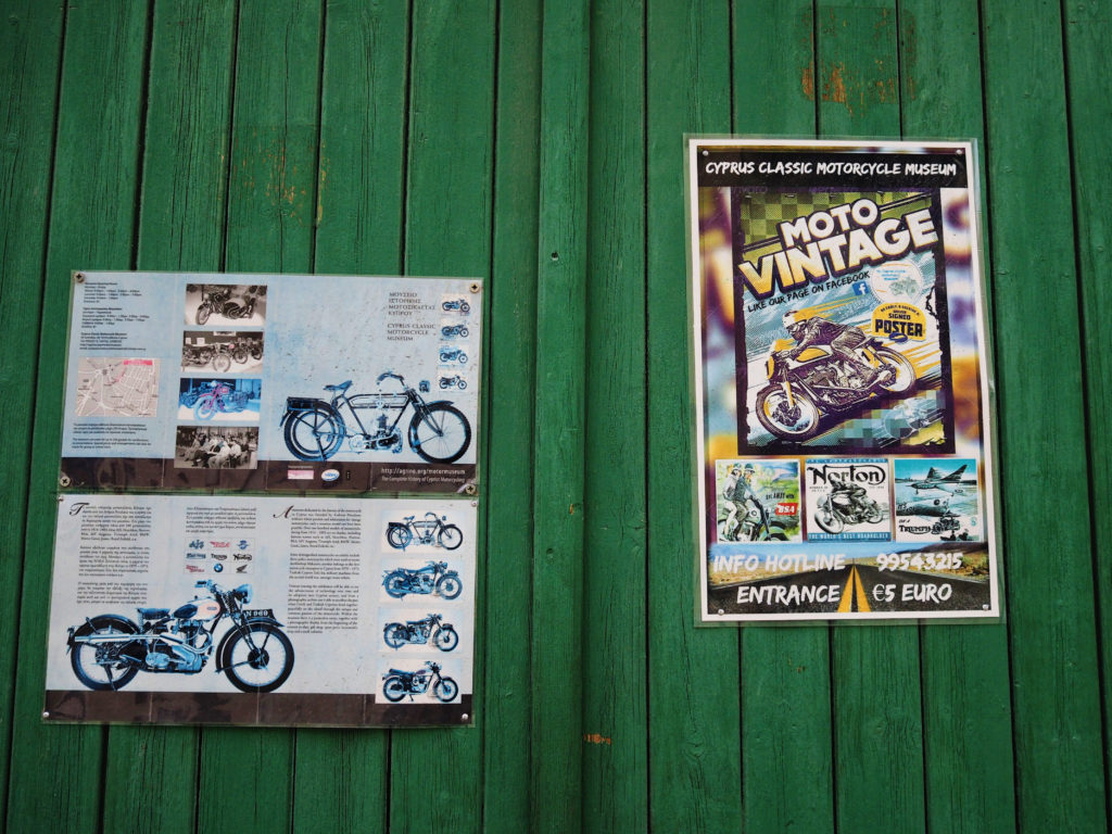 What to do in Nicosia, visit the Cyprus Classic Motorcycle Museum